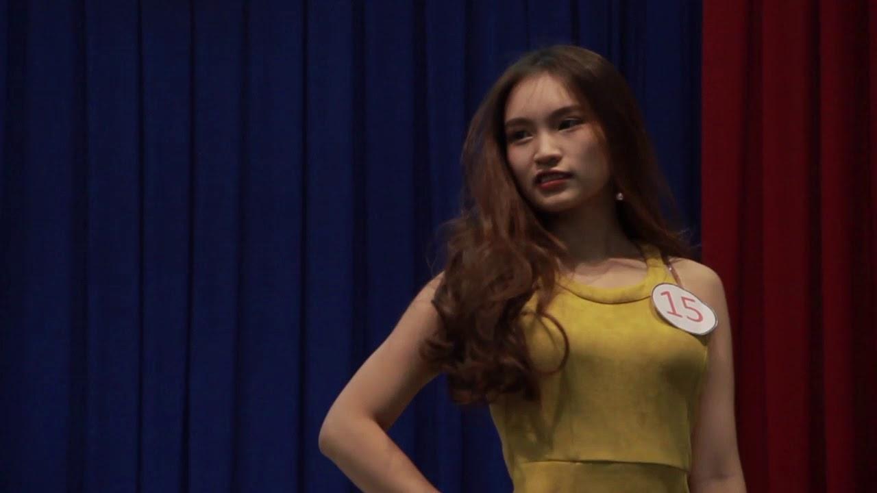 Trình diễn trang phục nữ tính | Vòng sơ loại Duyên dáng nữ sinh | 2017.10.02.(01)