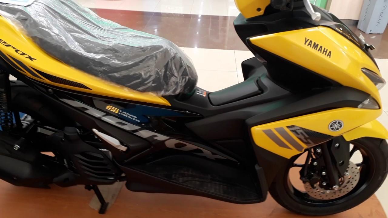 Simak berbagai info produk dan updatenya di sini. Harga Yamaha Aerox 155 - YouTube