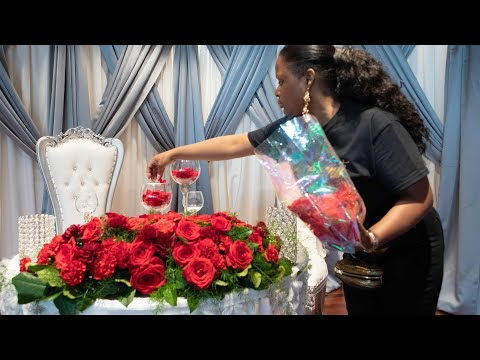 DAY IN THE LIFE OF AN EVENT PLANNER| GLAM WEDDING DECOR & BACKDROP | BEGINNING TO END