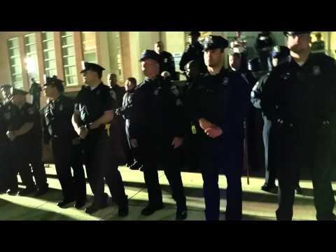 Baltimore City Riot (the beginning)