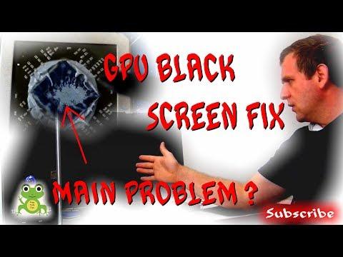 How To Fix GPU Black Screen After Load Windows - HD 7850 2GB FIX