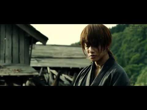 Rurouni kenshin (samurai x live action) kyoto inferno village figth scene