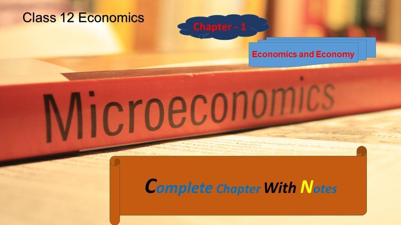 Chapter 1|| Economics and Economy || Micro-Economics || Class 11||12  economics || SkyHeights@