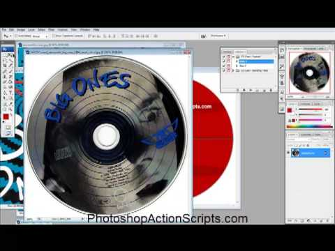How to make a CD cover - YouTube