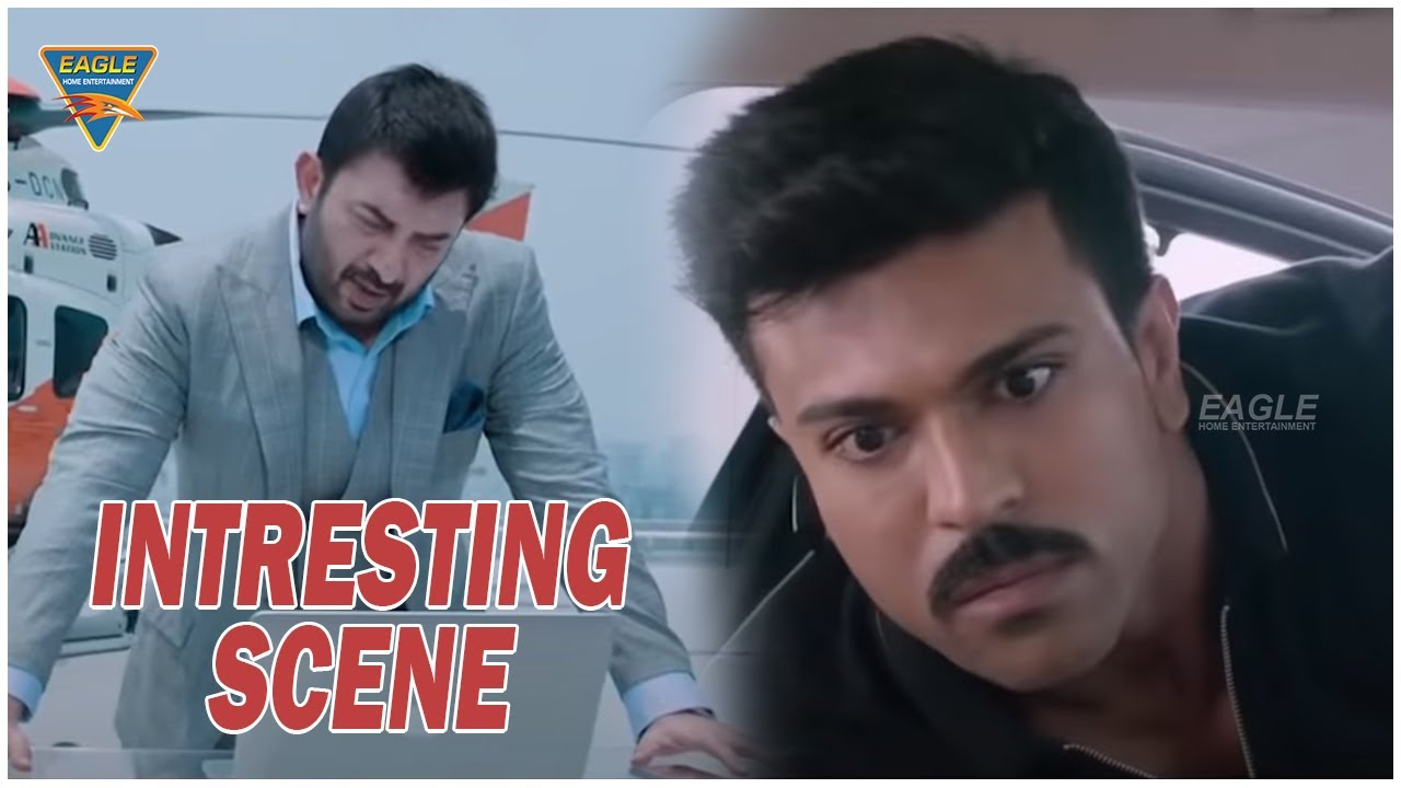 Arvind Swamy, Ram Charan Intresting Scene || Dhruva Hindhi Dubbed Movie || Eagle Home Entertainments