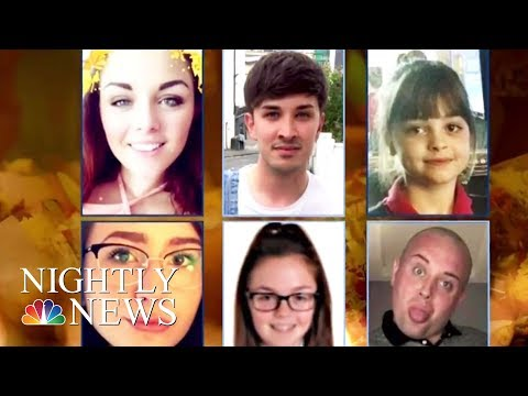 A Mourning Manchester Remembers Suicide Bombing Victims | NBC Nightly News