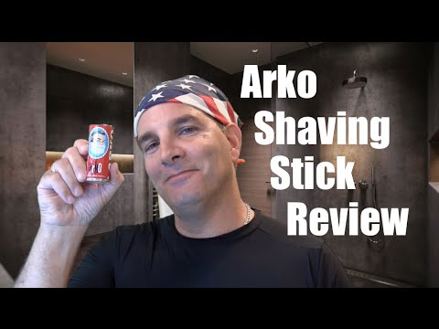All About The Arko Shaving Soap Stick