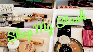 Shop My Stash| Everyday Makeup Drawer| 11/5/18