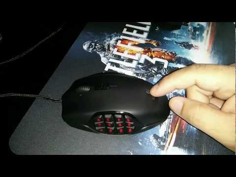 Logitech G600 MMO Gaming Mouse Review