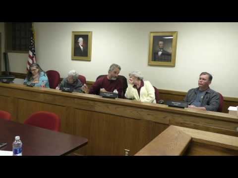 Cold Spring Board of Trustees December 6, 2016