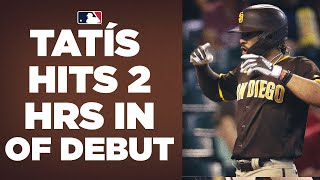 Padres' Fernando Tatís Jr. moves to outfield, GOES OFF! (2 homers, 4 hits)
