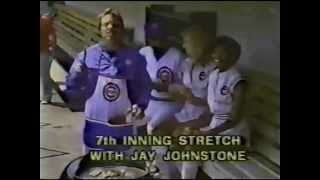 Commercial for the Chicago Cubs Designer Apron (1984)