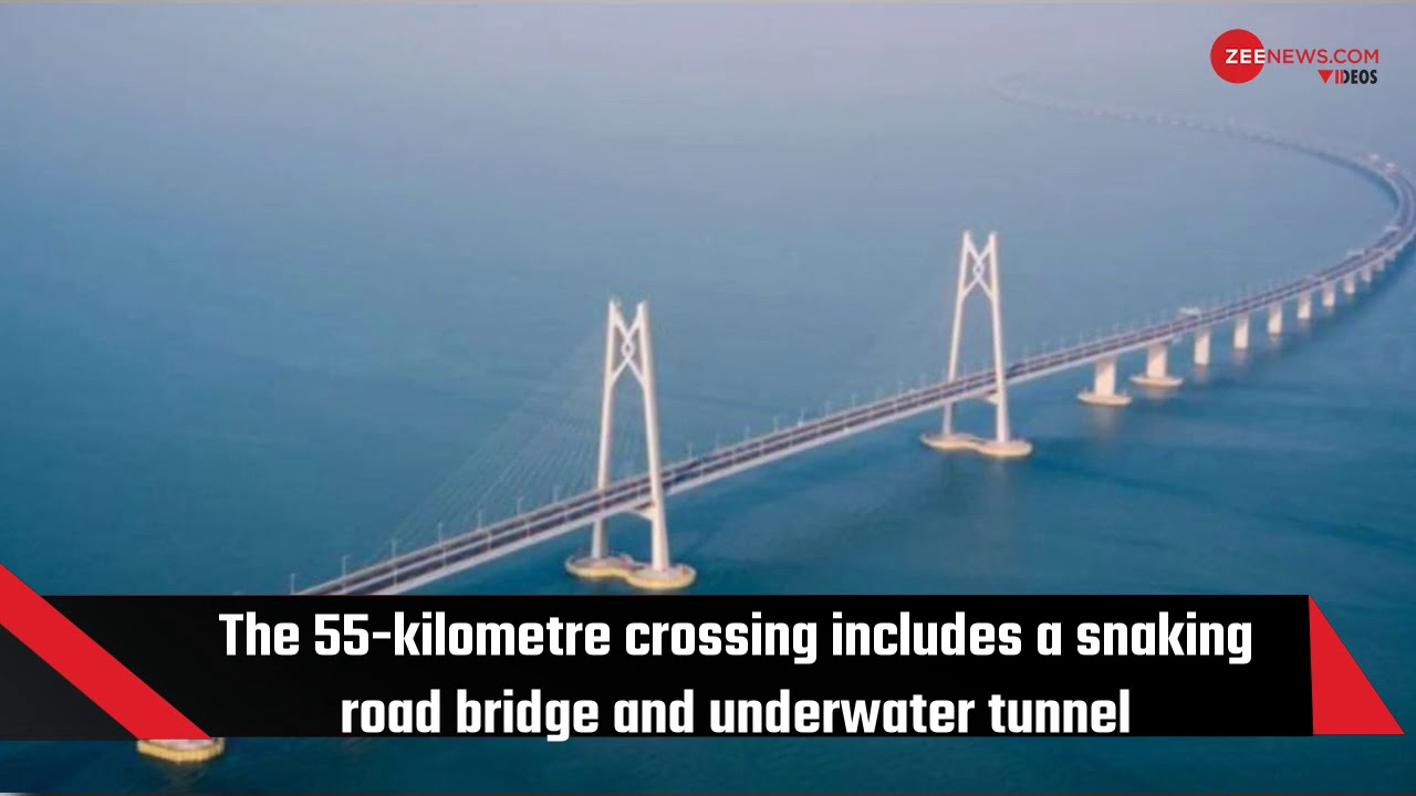 Chinese President Xi Jinping opens world's longest sea-crossing bridge
