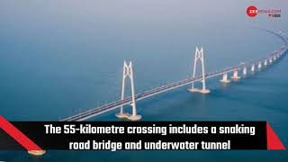 Chinese President Xi Jinping opens world's longest sea-crossing bridge