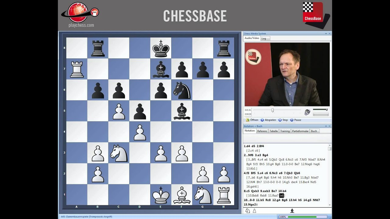 The London System with 2 Simon Williams Chess Bf4