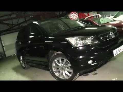 видео: honda cr-v левый руль Автомат 2011 год  2.4 л. 4wd от РДМ-Импорт