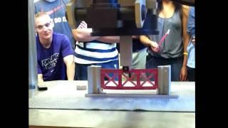 Balsa Wood Bridge Competition // University Of Portland Engineering