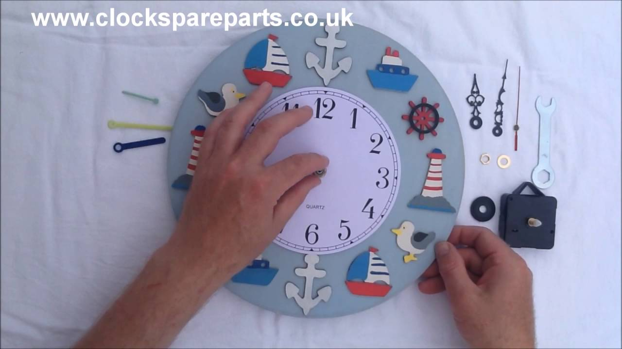 How to replace a Quartz clock movement with press fit ...