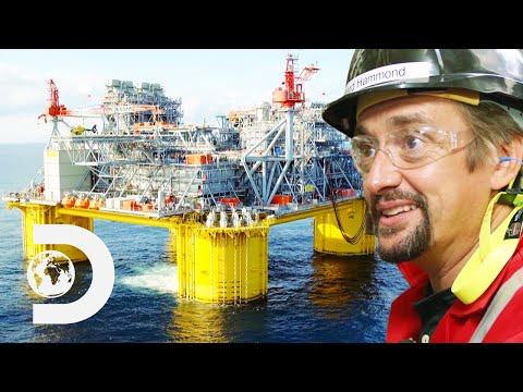 This Gigantic Floating Oil Platform Is Steam Powered | Richa