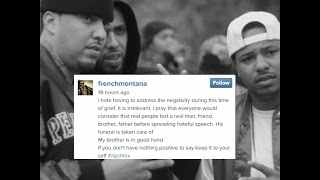 Chinx Drugz Family Requests $100K in Donations. French Montana Responds, Erica Mena Donates $3K
