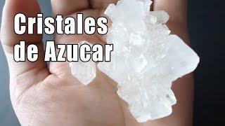 Cristales de azucar - Química interactiva