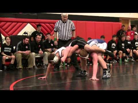 Division III - Region 18 Wrestling Semifinals - Round 1 Carey vs. Upper Sandusky