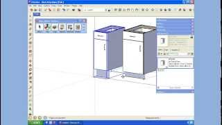 Sketchup Creating A Cabinet Component Library