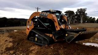 CASE TV380 Compact Track Loader - Delamont Earthmoving