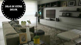 Salas Tour- Dicas de decoração e organização da minha sala de estar | Organize sem Frescuras!