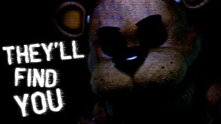 sfm fnaf theyll find you fnaf song by griffinillafandroid early 20k subscribers