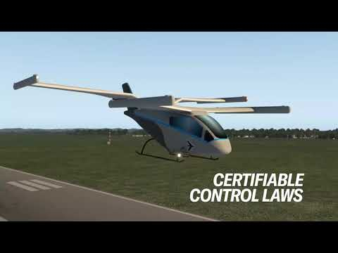 #EmbraerX #eVTOL Simulator First Flight