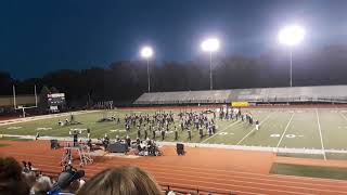 PHS Pride of Portage Marching Band at Penn High School 2018