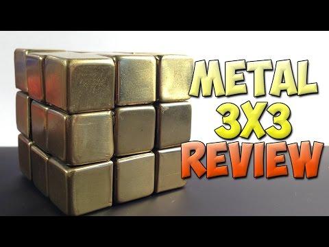Metal 3x3 Cube [Rubik's Cube] - REVIEW