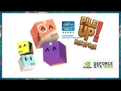 Pile Up Box By Box - #Teste - GTX 1050 + i5 3330 + 12gb ram  