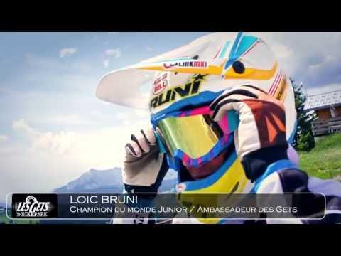 Loic Bruni, Champion du Monde Junior de VTT descente - Les Gets