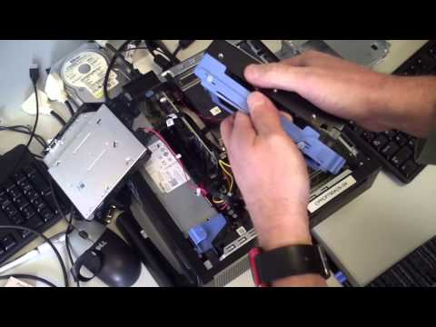 Replace Hard Drive In Dell Optiplex 790 And 9020 Sff