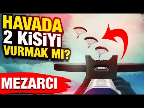 SON ADAMI TAVALAMAK / HAVADA 2 KİŞİYİ VURDUM /MEZARCI PUBG MOBILE ERANGEL GAMEPLAY