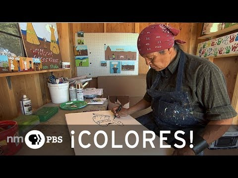 NMPBS ¡COLORES!: Santo Domingo Pueblo Cartoonist Ricardo Caté