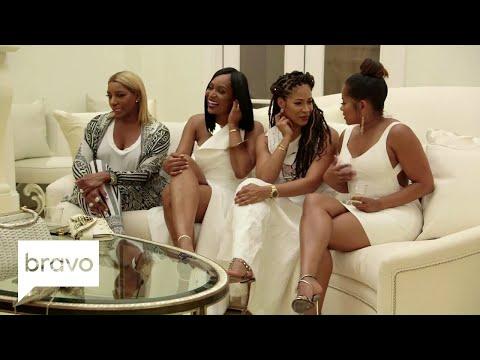 "RHOA: Kim Zolciak-Biermann Says Kenya Moore's Husband ""Doesn't Exist"" (Season 10, Episode 4)   Bravo"