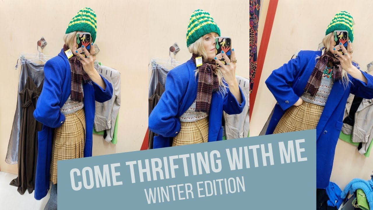 Christine Mcconnell Nude come thrifting with me// winter outfits