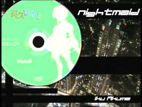 Paraoka feat. Acme Iku - nightmaid (full ver. + instrumental ver.)  [link and lyrics in desc]