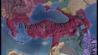 [EU4] Byzantium World Conquest Timelapse