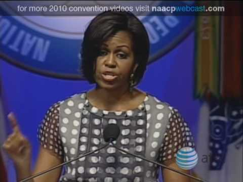 First Lady Michelle Obama Addresses the 101st NAACP Convention