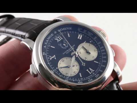 A. Lange & Sohne Double Split Flyback 404.035 Luxury Watch Review