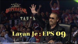 J-BORN DAPAT 5 STAR!!! : Layan Je! Muzikal Lawak Superstar