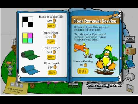 Club Penguin Furniture Secrets '09!