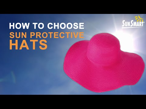 3d32201432d44 How to choose sun protective hats - YouTube