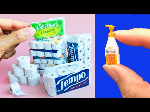 diy-miniature-toilet-paper,-soap-dispenser-and-more