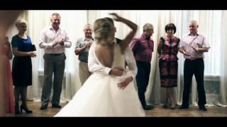Первый танец молодожёнов Даниил и Алина (Железногорск 2016) хореограф Анна Крей