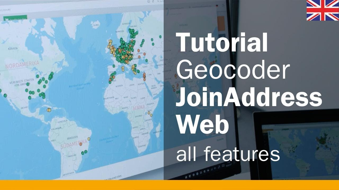 Geocoder Tutorial: Geocoding with JoinAddress Web - All the Functions at a  Glance